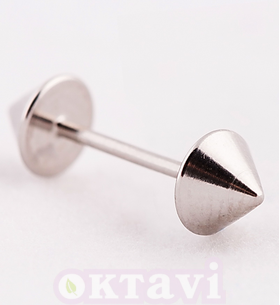 Серьги Cone bar - St Steel (160C1)